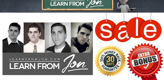 The best Learn from Jon Discount – Coupon Promo Code